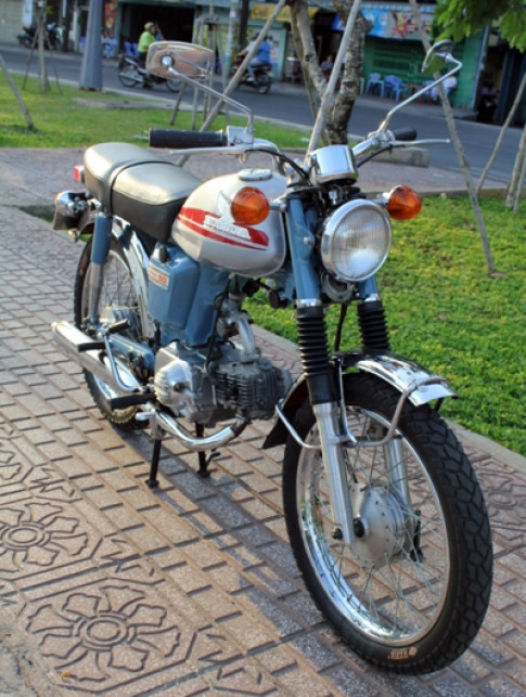 Honda CD50 doi 1970 o Sai Gon