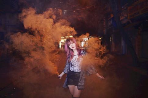 Huong Phan - co nang beauty vlogger so huu voc dang cuc chuan