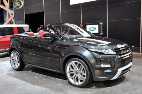 Land Rover can nhac san xuat Evoque mui tran