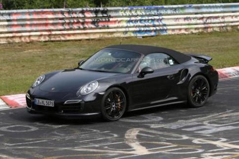 Lo dien Porsche 911 Turbo Cabrio 2014