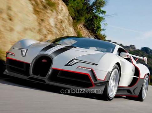 Ro ri hinh anh Bugatti Veyron the he moi