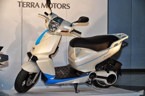 Terra A4000i – scooter dien ket noi iPhone