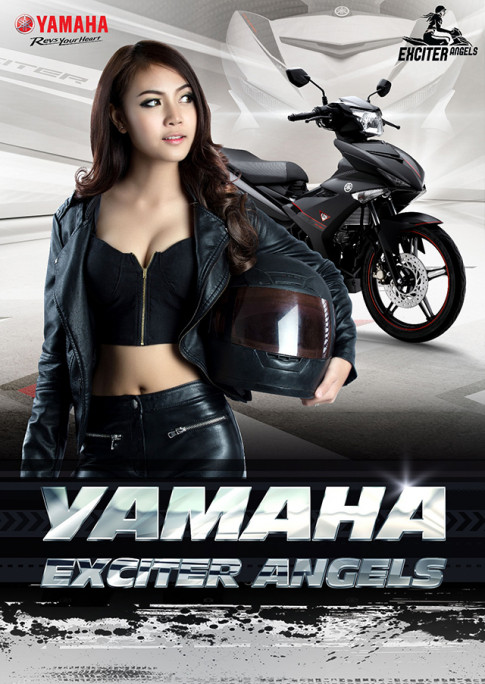 Tro thanh thien than song hanh cung ong vua duong pho - Yamaha Exciter!