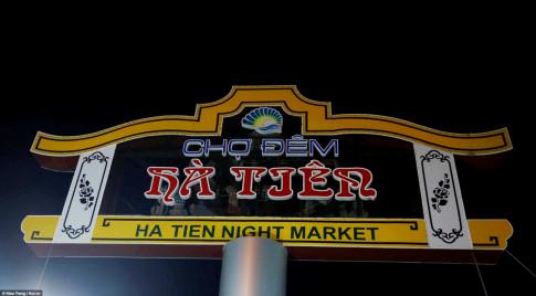 Cho dem Ha Tien - Net cham pha am thuc giua long mien Tay