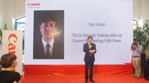 Don he 2017, Canon tung 'lien tu ti' 3 san pham may anh cho gioi tre Viet
