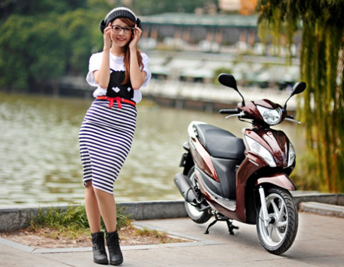 Honda Viet Nam ra mat Vision moi