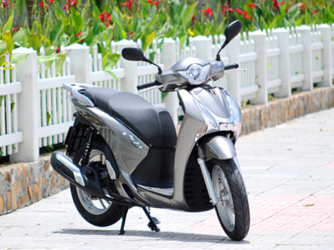 Honda Viet Nam sap trinh lang dong xe tay ga moi
