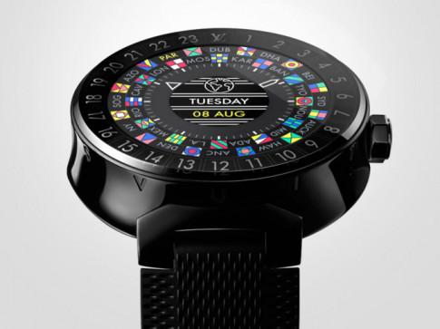 Louis Vuitton ra mat dong ho thong minh co gia gap.. 8 lan Apple Watch