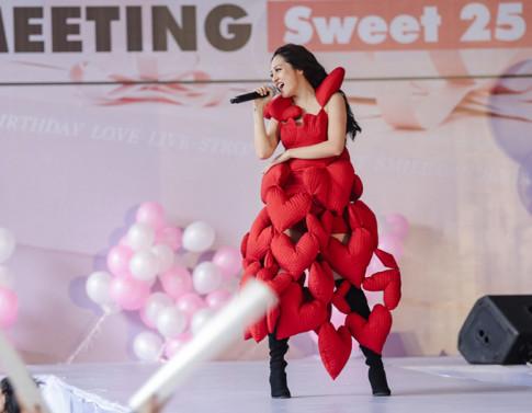 Co nguyen 1 rap xiec voi nhung tham hoa thoi trang cua sao Viet trong nam 2017