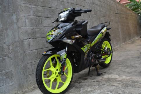 Exciter 150 di tem Agv( achihuahua) cua biker Quang Binh