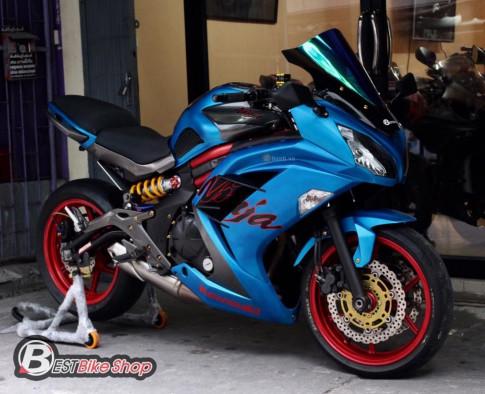 Kawasaki Ninja 650 đầy chất chơi với những trang bị đắt giá