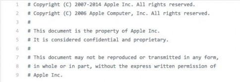 Ma nguon iOS bi tiet lo trong vu 'lo hang' lon nhat lich su Apple