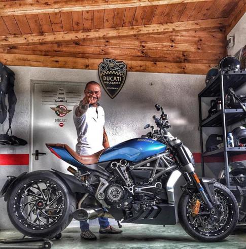Sieu pham Ducati XDiavel long lay trong ban do chat