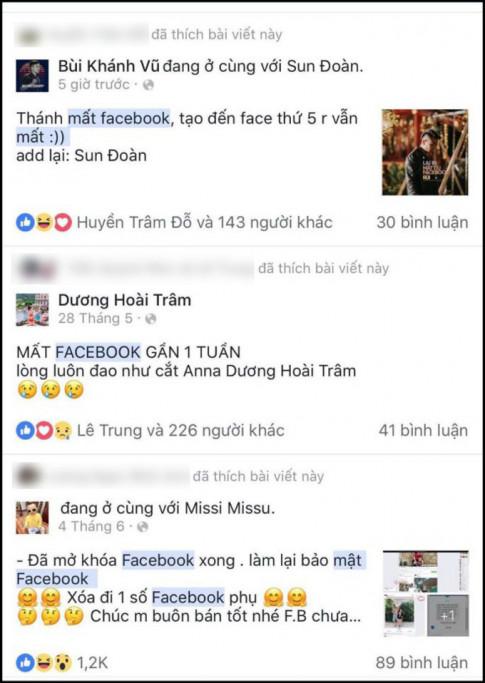 Hàng loạt người nổi tiếng mất Facebook. Làm sao để đề phòng?