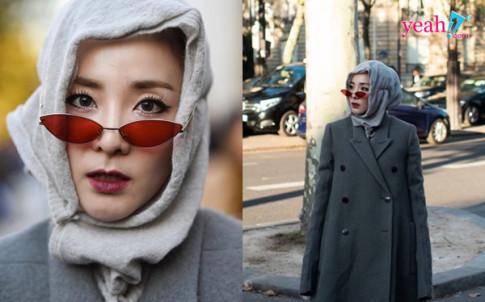 Hau gay bao tai Paris Fashion Week: Dara (2NE1) bi Netizen Han gieu cot nhu nguoi vo gia cu.