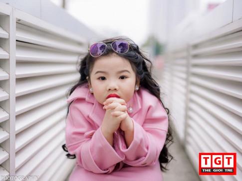 Mau nhi 6 tuoi dang yeu, dien do cuc sanh dieu o Ha Thanh