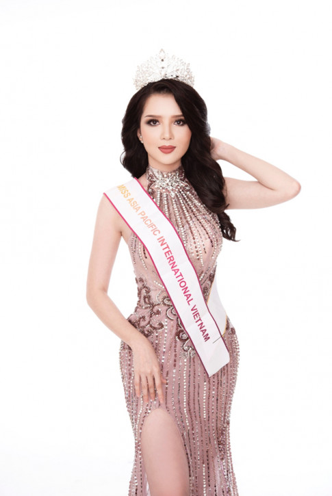 Thuy Vi duoc ki vong se lam nen chuyen tai Miss Asia Pacific International