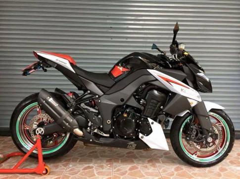 Kawasaki Z1000 doi 2013 phien ban dac biet do po Mivv cua nguoi Thai