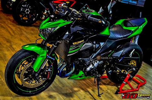 Kawasaki Z800 độ trong bộ giáp đầy kiêu sa trên đất Thái