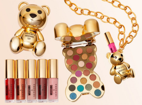 Moschino hop tac voi Sephora, chuan bi ra mat dong san pham makeup Teddy Bear cuc 'chat'