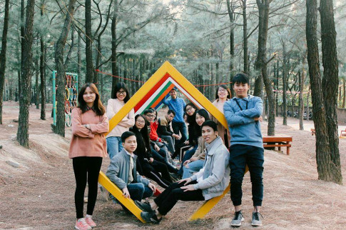 """""""Check-in"""" ngay khu vui chơi, cắm trại mới siêu đáng yêu gần Hà Nội"""