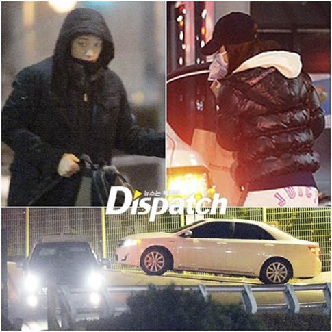 """Fan Kpop hoi hop cho Dispatch """"khui"""" cap doi trong ngay dau nam moi"""