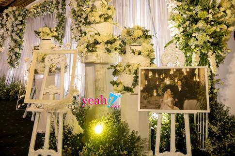 Hé lộ không gian tiệc cưới đầy sang trọng của Nhã Phương và Trường Giang