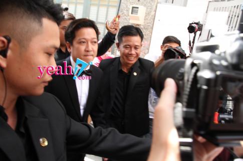 Hot: Can canh su xuat hien cua chu re Truong Giang va co dau Nha Phuong trong le ruoc dau