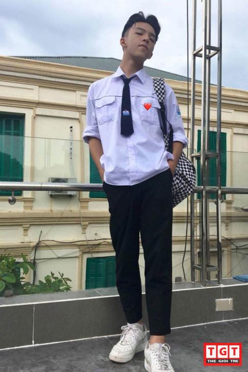 Hotboy 10x Hai Phong: dien trai tua my nam Han, hoc sieu gioi