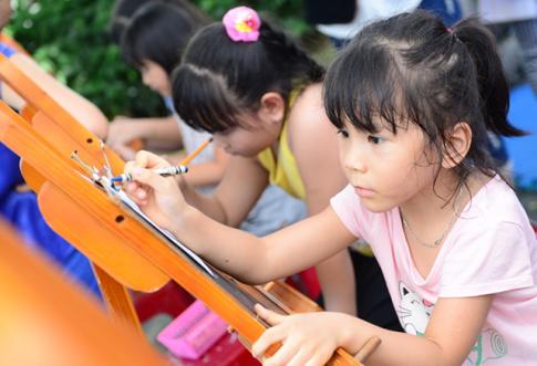 Ngày hội Phú Mỹ Hưng: tăng cường thể lực, hướng nghiệp cho trẻ qua những trò chơi bổ ích