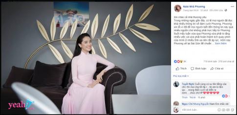 Nha Phuong thong bao dam cuoi voi Truong Giang, cu dan mang dong loat reo ten Nam Em