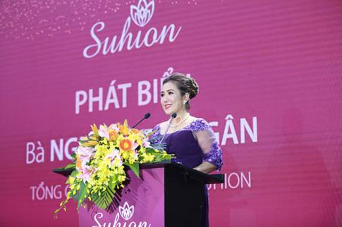 Ra mat thuong hieu long mi Suhion tai Viet Nam