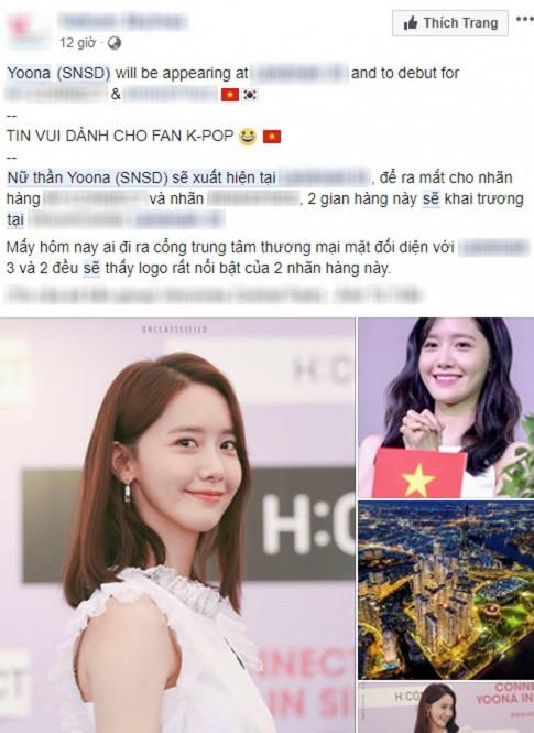 Ro tin SNSD YoonA toi Viet Nam ngay thang 8 toi day