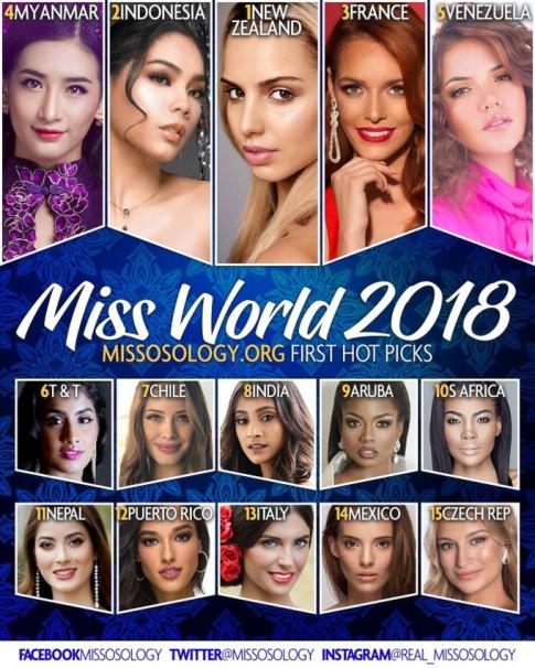 Trần Tiểu Vy bật khỏi top 15 nhan sắc có cơ hội chạm vương miện Hoa hậu Thế giới 2018