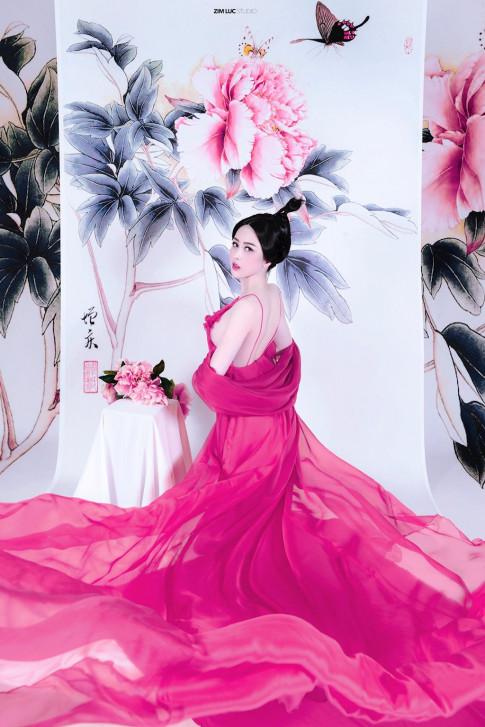 Võ Thanh Hiền hóa mỹ nữ cổ trang đẹp như tranh vẽ