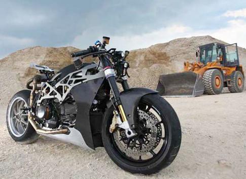 'Bo xuong' Ducati Monster
