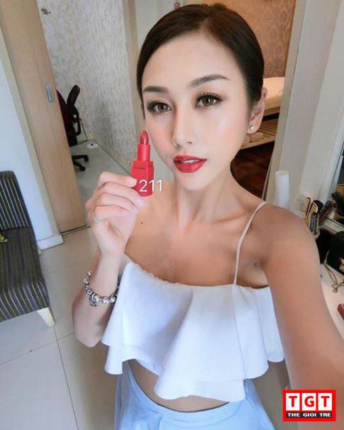 Cung hotgirl Quynh Nhi review thoi son do dang lam chi em phat cuong ngay 8/3