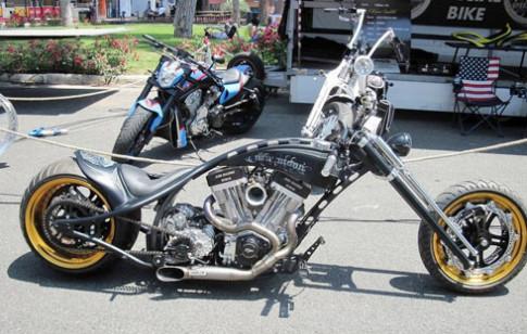 Dan xe khung ky niem 110 nam Harley-Davidson