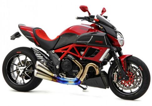 Ducati Diavel do gia 70.000 USD