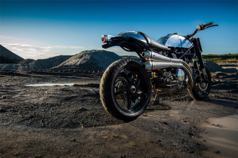 Ducati Monster do phong cach vien tuong