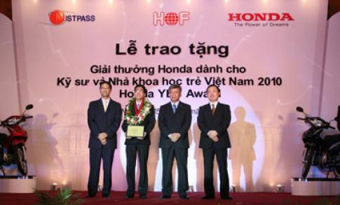 Giai thuong Honda Yes Award 2010