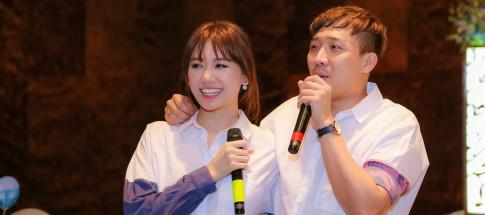 Hari Won chinh thuc len tieng tin viec bi Truong Giang noi 'ho' sap co em be
