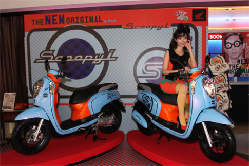 Honda Scoopy i S12 - scooter ca tinh