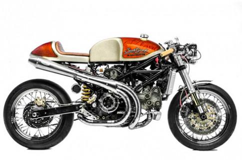 Kelevra Ducati S4R - tuyet pham cafe racer