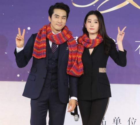 Lai xon xao tin Song Seung Hun va Luu Diec Phi chia tay?