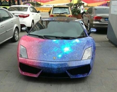 Lamborghini Gallardo do phien ban bau troi