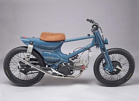 Moto do an tuong tu Honda Super Cub