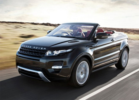 Range Rover Evoque se su dung mui toan canh