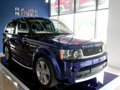 Range Rover Sport Supercharged mau 'doc' o Viet Nam