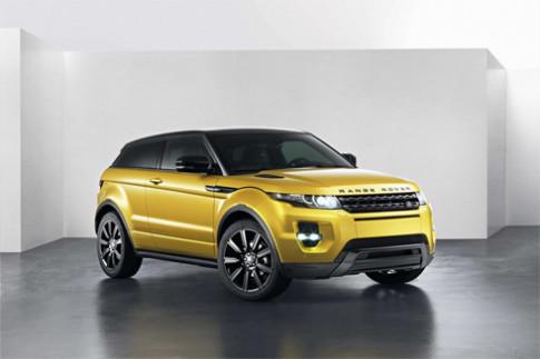 Range Rover trinh lang Evoque dac biet